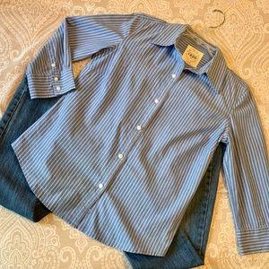 Izod Cotton Shirt Long Sleeve
